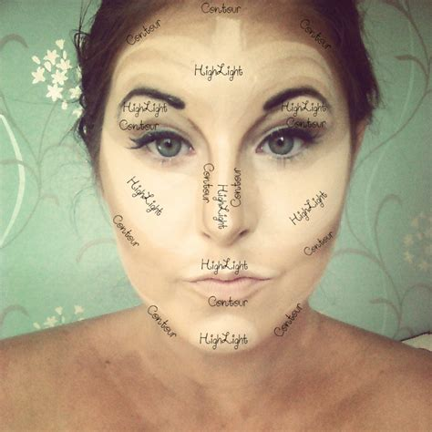 where do you put your makeup on easy way to highlights contour trusper