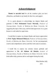 Phd Thesis Acknowledgement Template by Exle Of Thesis Acknowledgement Page Drugerreport732