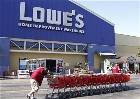 lowe s closes stores lays 1 950 workers reuters