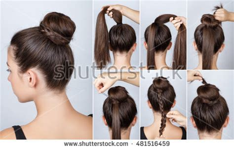 hairstyles for hair hairstyle stock images royalty free images vectors