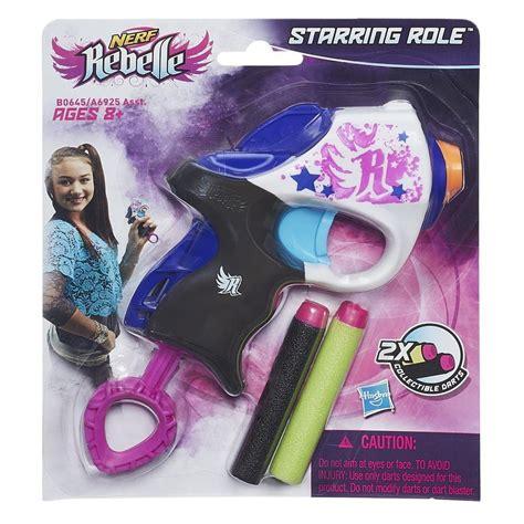 girls nerf rebelle star shoot blaster set preview nerf rebelle starring role mini blaster ebay