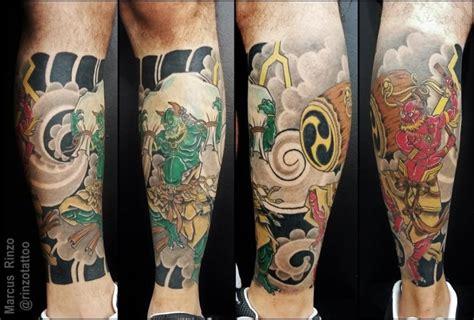 Tattoo Oriental Perna Fechada | tattoo na perna foto 9484 mundo das tatuagens