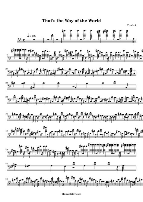 That's the Way of the World Sheet Music - That's the Way