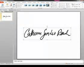 how to create a transparent signature st for adobe