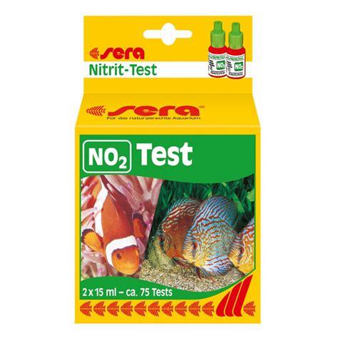 test di di sera sera no2 test nitriti 75 misurazioni aquariumline