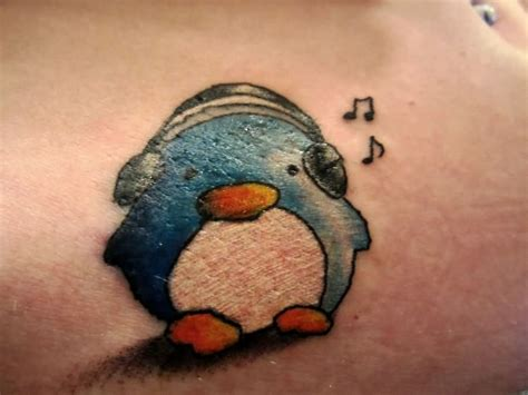 penguin tattoo penguin images designs