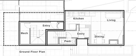 lever house plan contemporary and practical urban duplex unit in seattle freshome com