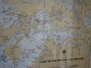 lake of the woods canada map lake of the woods map images