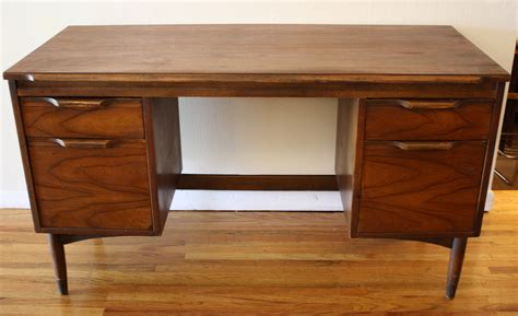 Mcm Wood Desk Picked Vintage Wood Desk