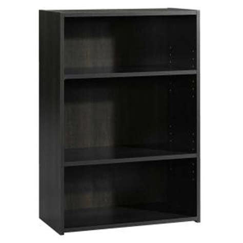 Sauder Beginnings Collection 35 In 3 Shelf Bookcase In Sauder Beginnings 3 Shelf Bookcase