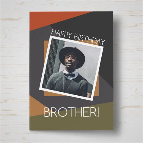 personalised brother birthday card birthday cards