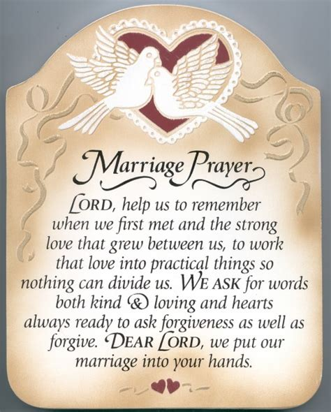 Difficult marriage prayer poem