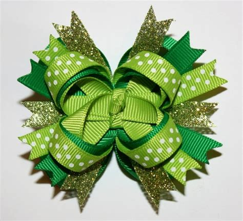 St Mini Polka 41 best images about st s day hair bows on
