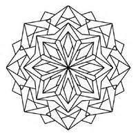 Kaleidoscope Coloring Pages For Pinterest sketch template