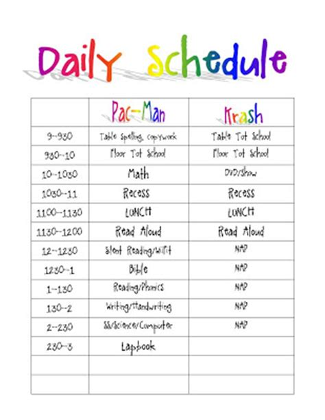 air cadet lesson plan template printable daily routine schedule template clipart autism