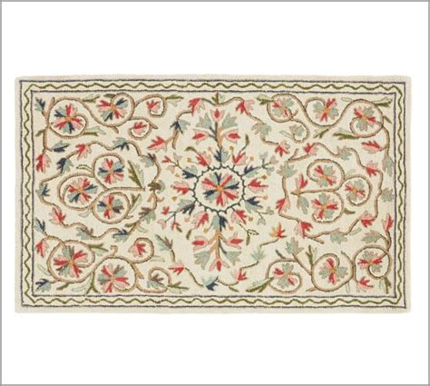 Pottery Barn Floral Rug by Makayla Floral Rug Pottery Barn
