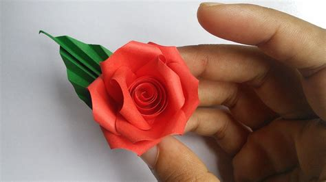 paper quilling flower rose  hand works