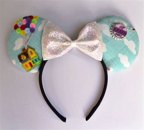 Handmade Mickey Mouse Ears - up mouse ears custom mouse ears by mouseishly on etsy