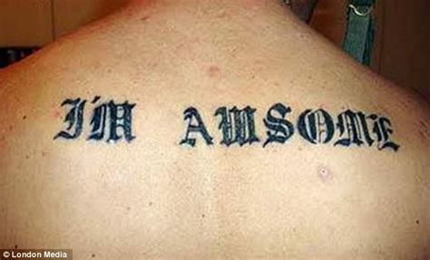 misspelled tattoos hilarious photos of misspelled tattoos reveal why you