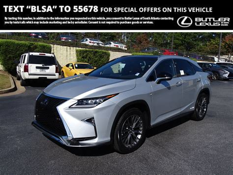 2019 Lexus Rx 450h by New 2019 Lexus Rx Rx 450h F Sport Sport Utility In Union
