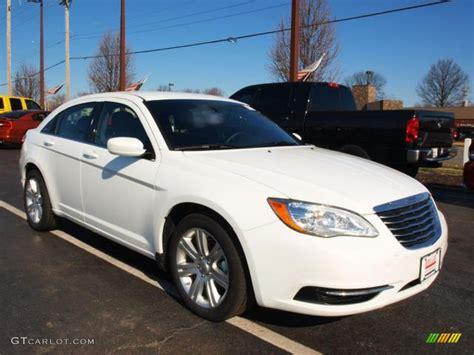 2012 Chrysler 200 Touring by Bright White 2012 Chrysler 200 Touring Sedan Exterior