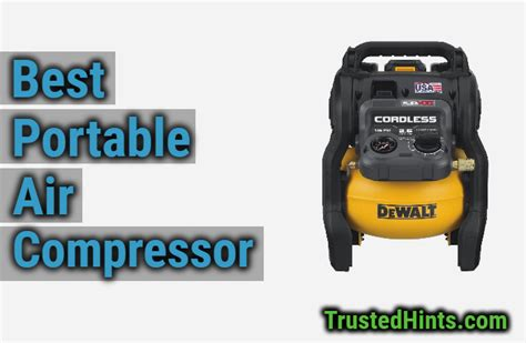 best portable air compressor reviewed in 2019 trustedhints