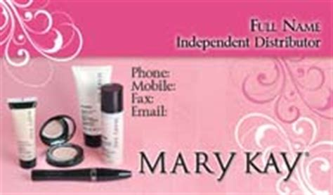 mary kay business cards 1000 mary kay business cards 59 99