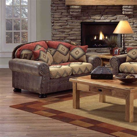 southwest living room furniture intermountain furniture navajo southwest style loveseat