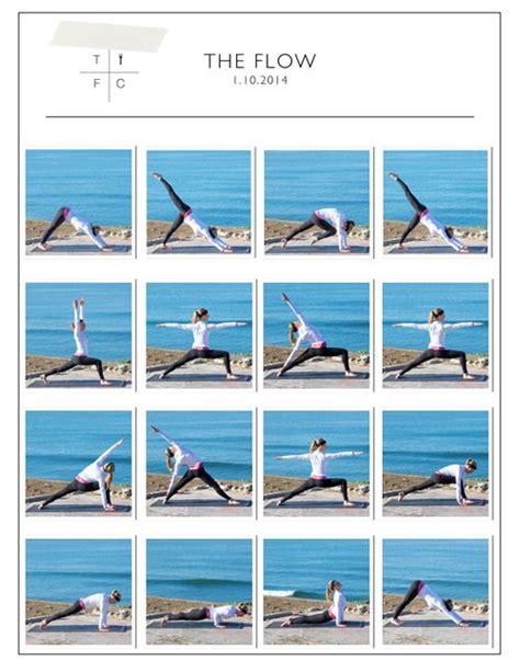yoga tutorial flow de 25 bedste id 233 er inden for yoga flow p 229 pinterest