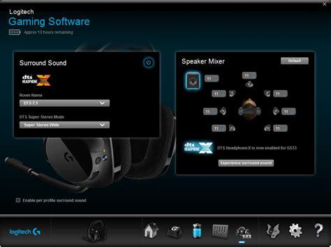 logitech software review logitech g533 wireless gaming headset nz techblog
