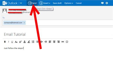 email new how to write a new email on hotmail 6 steps with pictures
