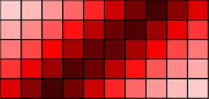shaeds of 50 shades of red