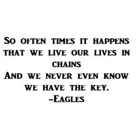 in chains so already the eagles and eagles on