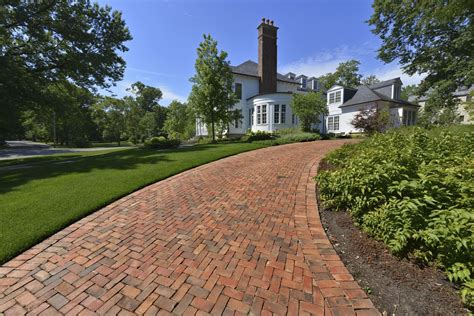 brick driveway the basics of a brick paver driveway