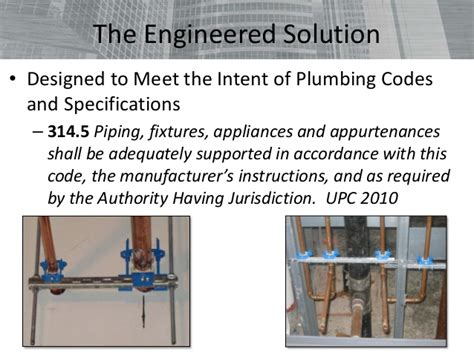 aspe ceu pipe hangers and supports