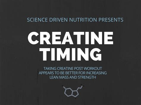 creatine timing creatine timing pre or post that is the question