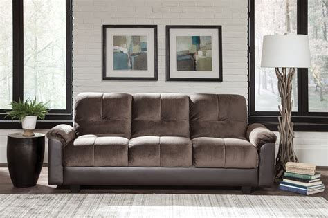 chocolate sofa bed chocolate brown sofa bed from coaster coleman furniture