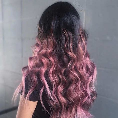 rose gold hair dye dark hair 23 trendy rose gold hair color ideas gold hair colors