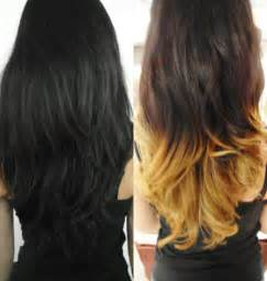 dyed hairstyles for black dip dyed dip dye and dips on pinterest