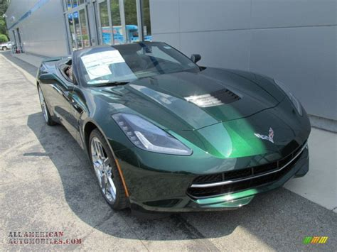 corvette stingray green 2014 chevrolet corvette stingray convertible z51 premiere
