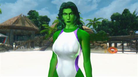 loverslab skyrim followers newhairstylesformen2014com marvel vs capcom 3 she hulk follower in skyrim by user619