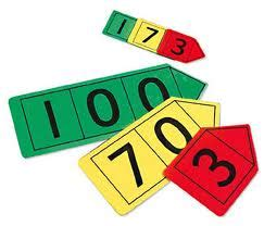 number place value cards printable year 1 goldilocks base numeracy partitioning numbers