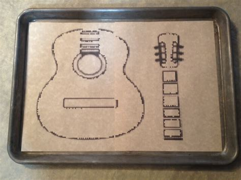 guitar templates for cakes guitar cake template cake ideas and designs
