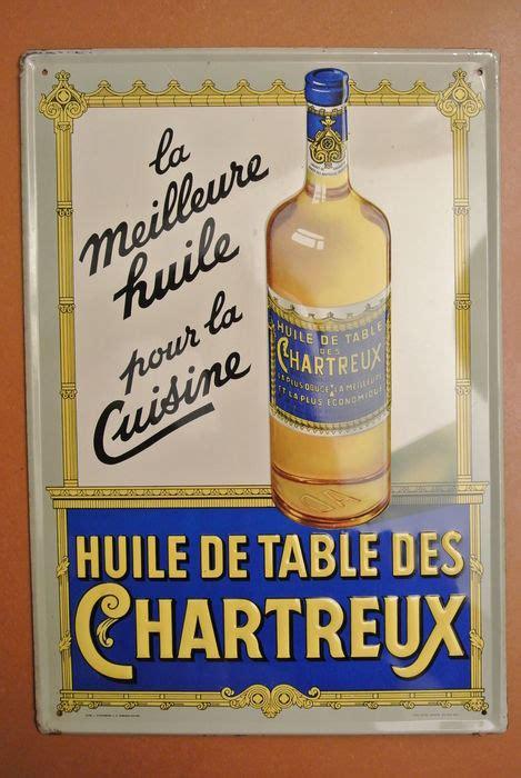 Plaque De Tole 1957 plaque en t 244 le huile des chartreux 233 e 1957 top
