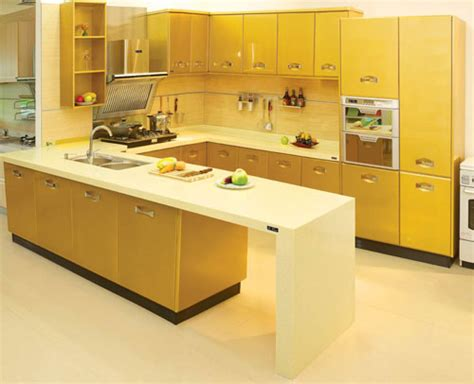 yellow kitchen design yellow kitchen designs