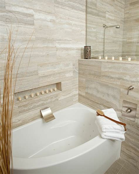 travertin bad travertine tiles in the bathroom designs with
