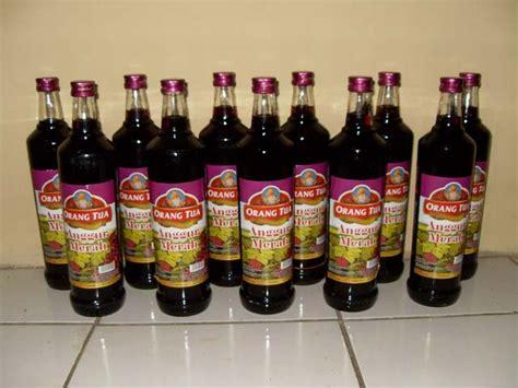 Anggur Cap Orang Tua anggur merah orang tua andreas siagian