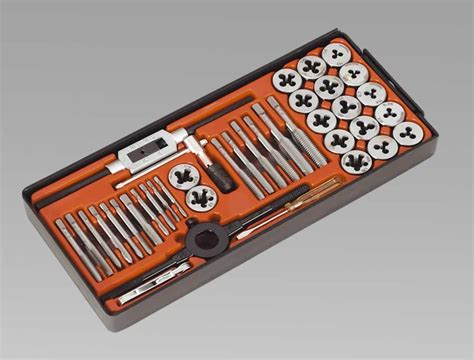 Tap And Die Set 40pc Maxpower tap die set 40pc metric