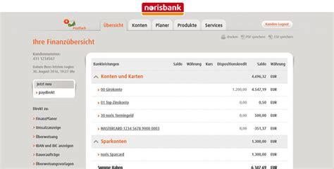 kasseler bank onlinebanking girokonto der norisbank im test erfahrungen mit der