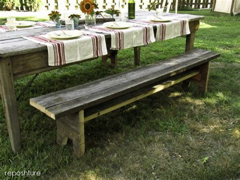 rustic picnic bench 12 tutorials tips not to miss home stories a to z